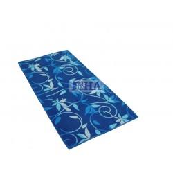 Кърпа за баня и тяло Сини цветя 70/140