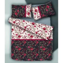 Спално бельо с олекотена завивка Диви Рози