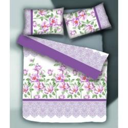 Спално бельо с олекотена завивка Магнолия