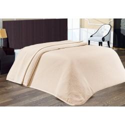 Покривало за легло Бежово