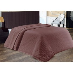 Покривало за легло Кафяво