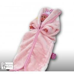 Порт за бебе Розов