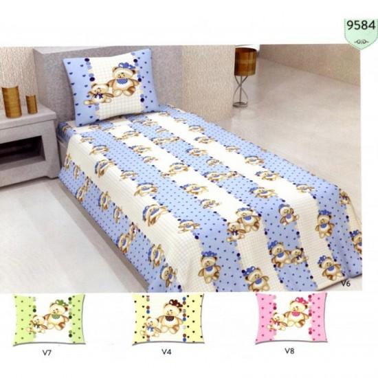 100% Памук бебешко спално бельо BEARS