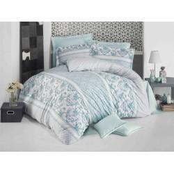 Спално бельо Ранфорс BLUE