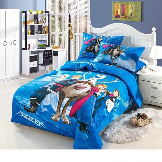 100% Памук детско спално бельо FROZEN