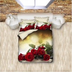 3D Спално бельо RED ROSES
