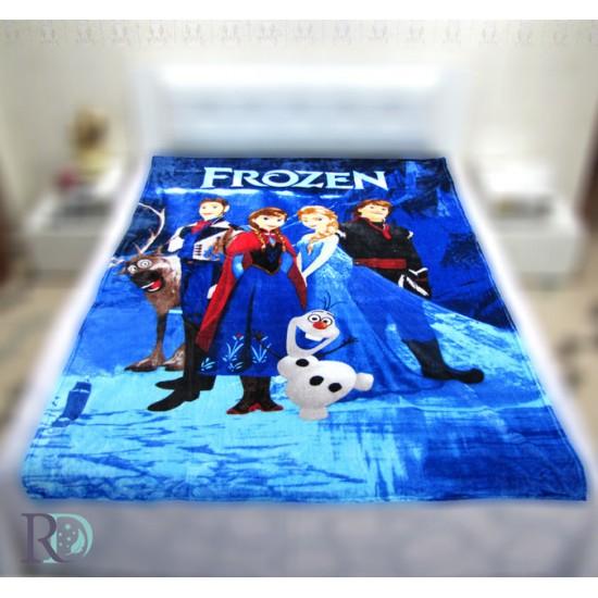 Дeтско одеяло Замръзналото кралство