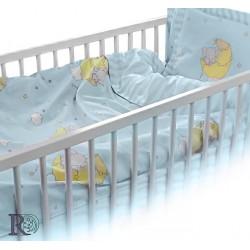Луксозен Бебешки Спален Комплект Слонче в синьо