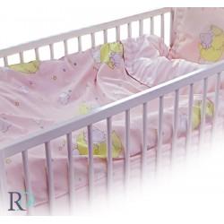 Луксозен Бебешки Спален Комплект Слонче в розово