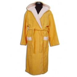 Юношески халат Жълт