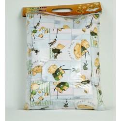 Бебешки спален комплект Ранфорс SWEET BEAR GREEN