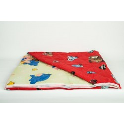 Памучно шалте с две лица за деца
