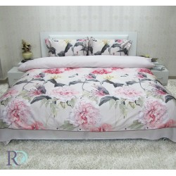 Спално бельо Леонарда памучен сатен