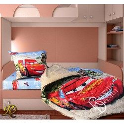 Спално бельо МАКУИН памучен сатен