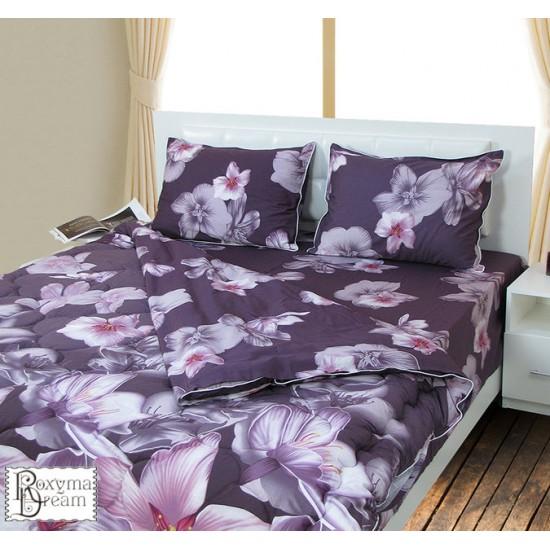 Спално бельо с олекотена завивка перкал SPRING COLOUR