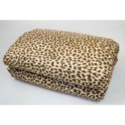Олекотена завивка памук Леопард