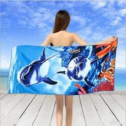 Плажна кърпа Синьо Море