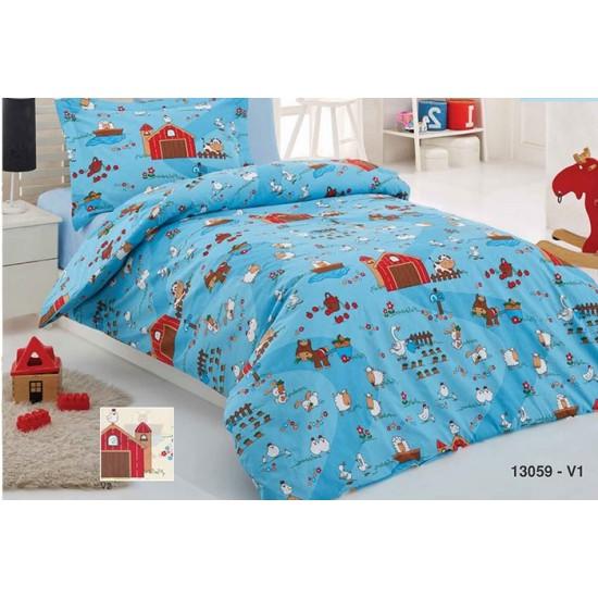 Бебешки спален комплект Ранфорс ФЕРМАТА