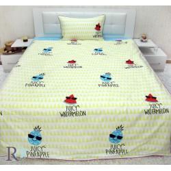 Луксозно спално бельо от фин памук Плодчетата