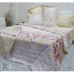 Спално бельо с лятна олекотена завивка ЕЛЕНА екрю