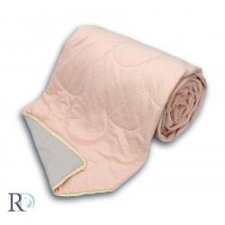 Лятна олекотена завивка от вискоза МЕЧТА пепел и розово