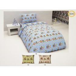Бебешко спално бельо 100% Памук  МЕЧЕ С КОЛЕЛО