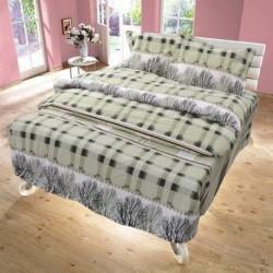 Спално бельо 100% Памук TREE зелено