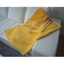 Поларено одеяло CORAL FLEEZE жълто