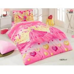 Детско спално бельо от ранфорс с ПРИНЦЕСА