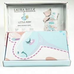 Ранфорс бебешко спално бельо Малко Пони