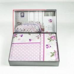 Премиум ранфорс спален комплект LINDA