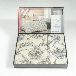 Премиум ранфорс спален комплект FLORYA