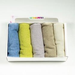 Кухненски кърпи в кутия дъга