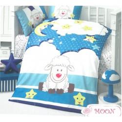 Бебешко спално бельо премиум ранфорс ЛУНА