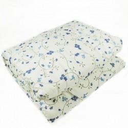 Олекотена завивка от памук МАРТИ синьо