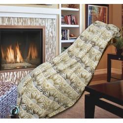 Одеяло Памук с орнаменти в бежов цвят