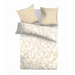 Спално бельо от 2 части RETRO беж