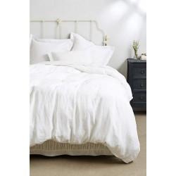 Спално бельо 100% Памук 2 части в бяло