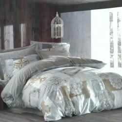 Спално бельо с кувертюра LACE ранфорс