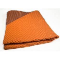 Шалте от микрофибър Оранжево и тъмно Оранжево
