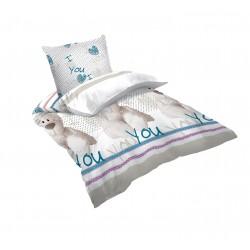 Детско спално бельо WHITE BEAR