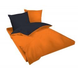 Спално бельо Оранжево и Черно ранфорс