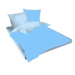 Спално бельо Небесно Синьо и Синьо ранфорс