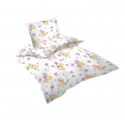 Бебешки спален комплект PINK BEARS