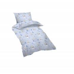 Бебешки спален комплект BLUE SHEEPS