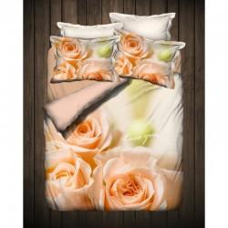 3D Спално бельо от Ранфорс ЕЛИЯ