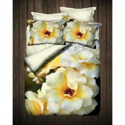 3D Спално бельо от Ранфорс Gardenia