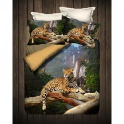 3D Спално бельо от Ранфорс Сафари