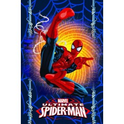 Поларено одеяло за деца Spiderman