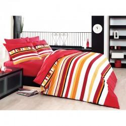 Спално бельо Classico Red ранфорс